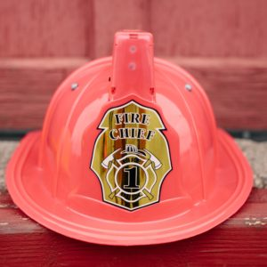 Jr. Fire Chief Helmet Lights and Siren