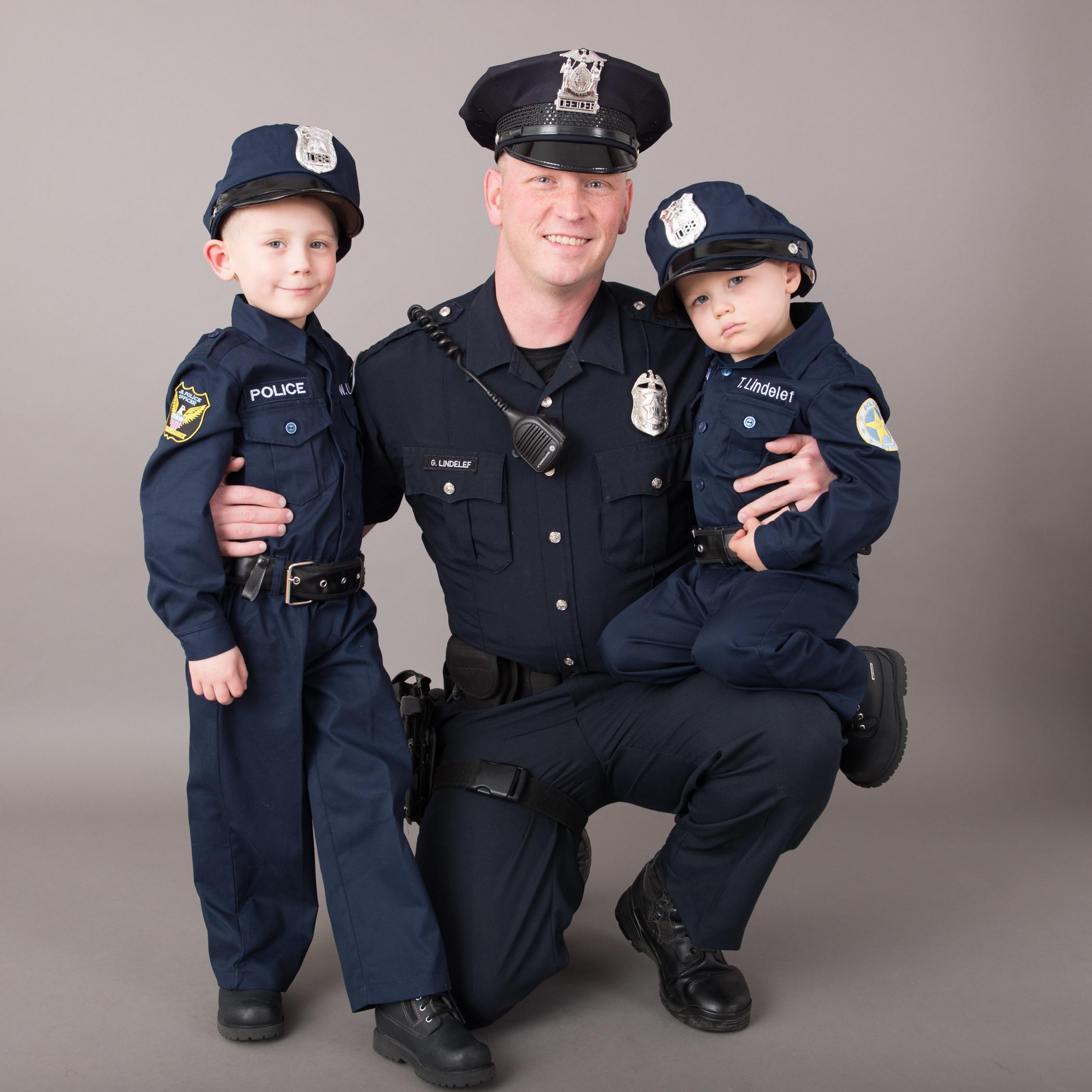 Cop uniforms real Kids' SWAT
